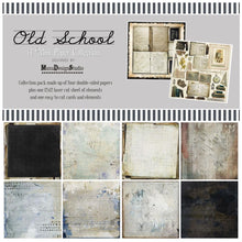 Load image into Gallery viewer, School Days scrapbook page kit with 2 Bonus Layouts