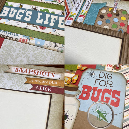 Bugs Life scrapbook page kit