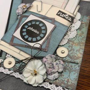 Pandemic scrapbook page kit