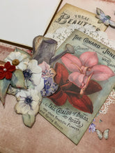 Load image into Gallery viewer, Garden Love Scrapbook Page Kit