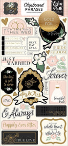With This I Thee Wed scrapbook page kit