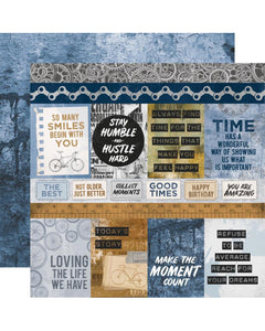 My Best Days are with You scrapbook page kit