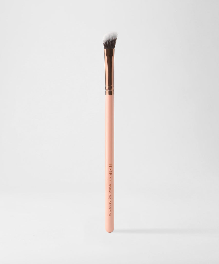 LUXIE 207 Medium Angled Shading Rose Gold