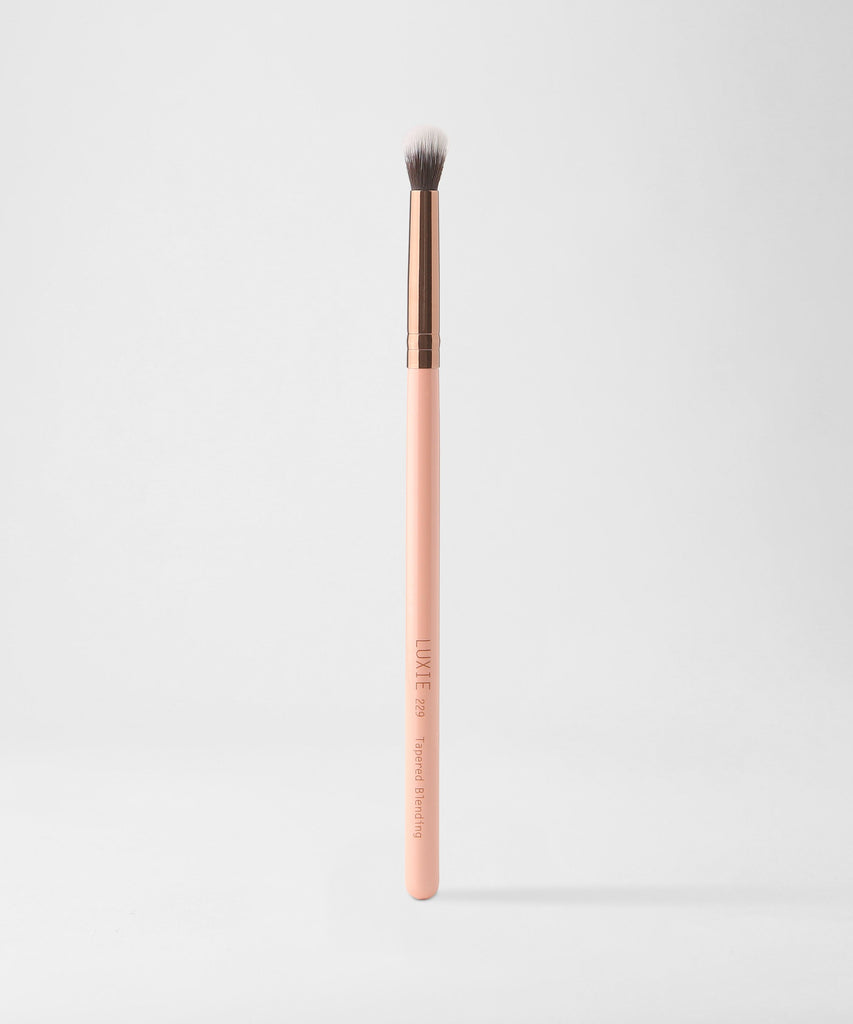 LUXIE 229 Tapered Blending Rose Gold