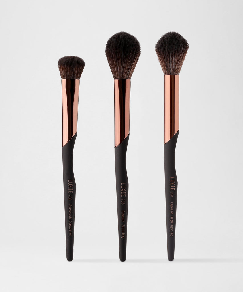 LUXIE BC Face Brush Set - ProTools - luxiebeauty