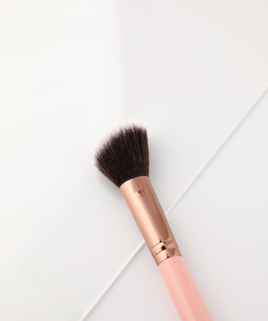 LUXIE 504 Large Angled Brush - Rose Gold - luxiebeauty