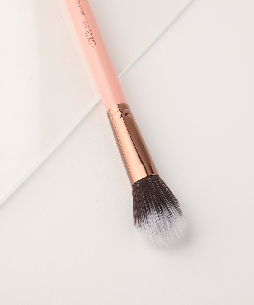 LUXIE 516 Duo Fibre Powder Rose Gold