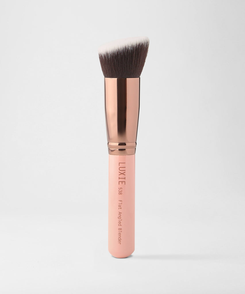 LUXIE 538 Flat Angled Blender Rose Gold
