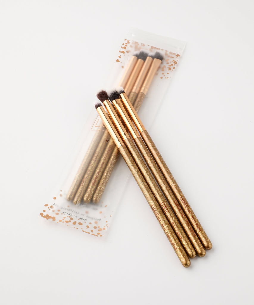 LUXIE BC LUMINOUS EYE BRUSH SET - luxiebeauty