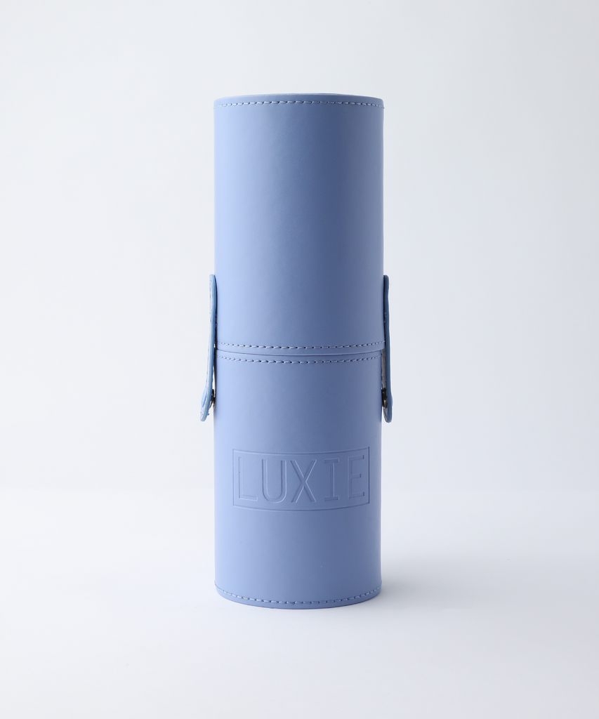 LUXIE Periwinkle Brush Cup Holder
