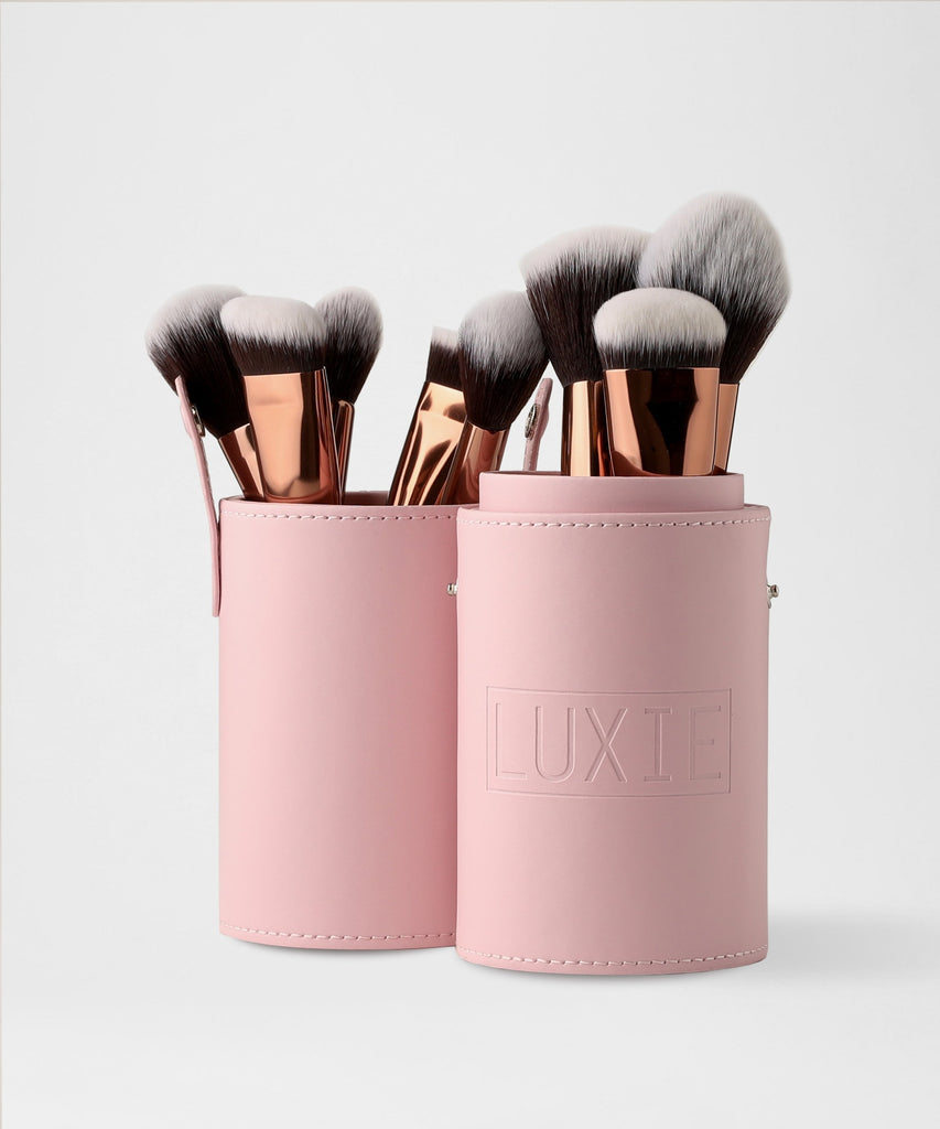 LUXIE Pink Brush Cup Holder