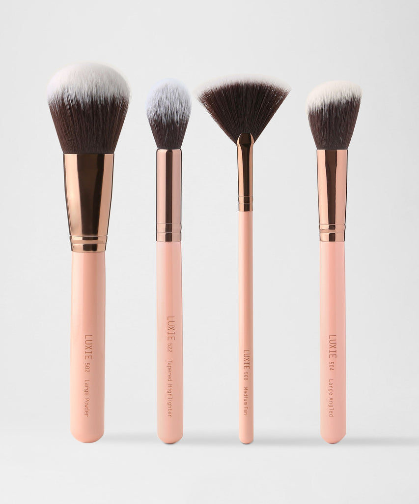 Luxie Classic Face Brush Set