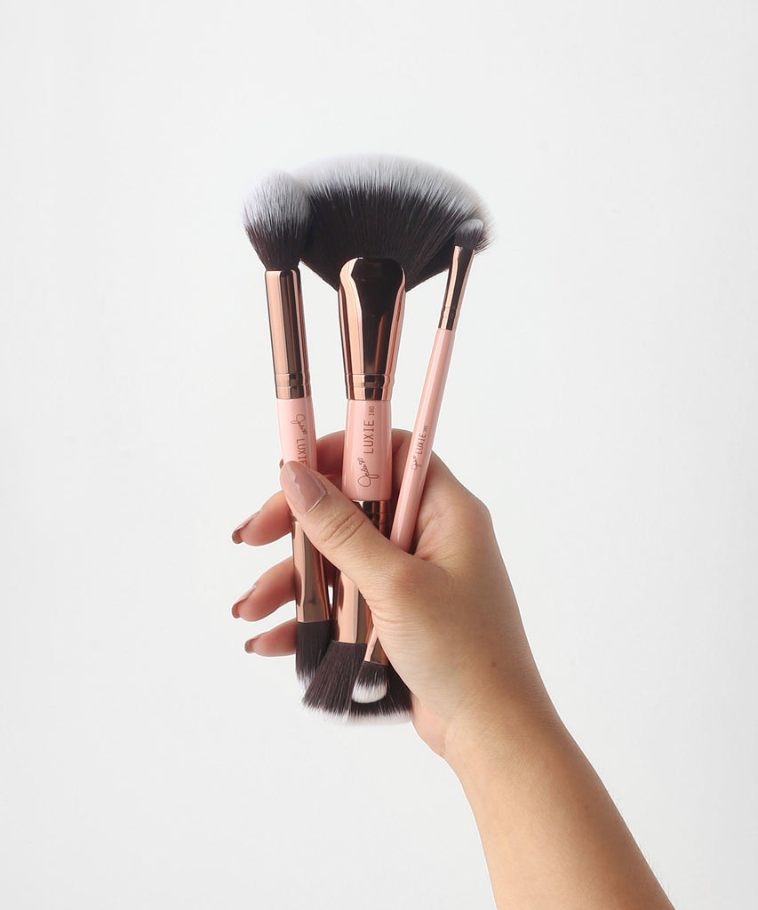 LUXIE Glam Sculpting Duo Brush Set Jadeywadey180