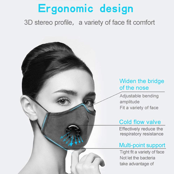 Face Mask For Excellent Breathability & Extra Comfort