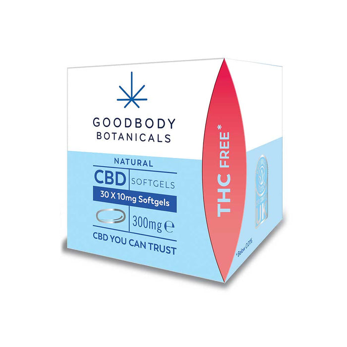 Goodbody Botanicals - CBD Softgels 30 x 10mg (300mg)