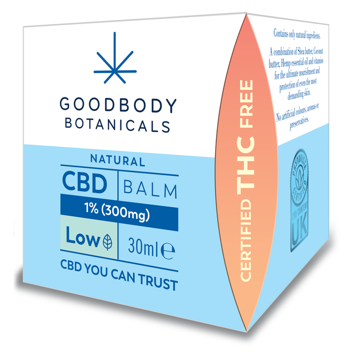Goodbody Botanicals - CBD Balm (300mg) 30ml