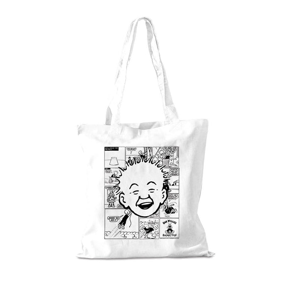 Comic Strip Cotton Shopper