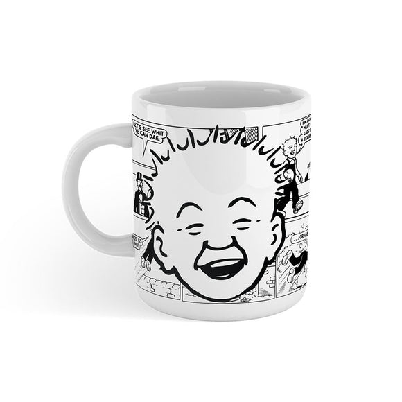 Oor Wullie Comic Strip Mug