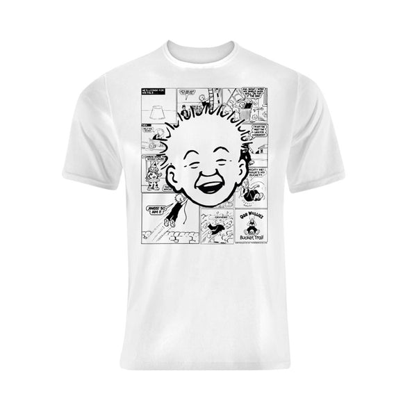 Oor Wullie Comic Strip T-Shirt