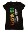 Bob Marley Smile Gradient Junior's Tee
