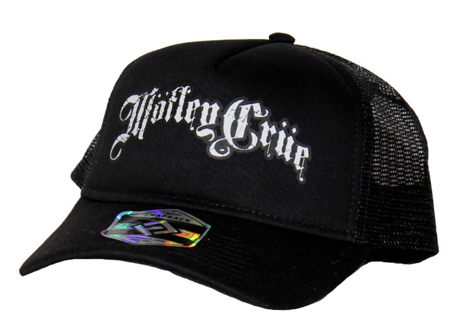 Motley Crue 5 Panel Trucker Hat