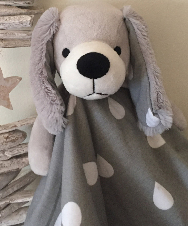 L'il Fraser Collection - Comforter Toy Soft Jersey Cotton - Puppy Dog