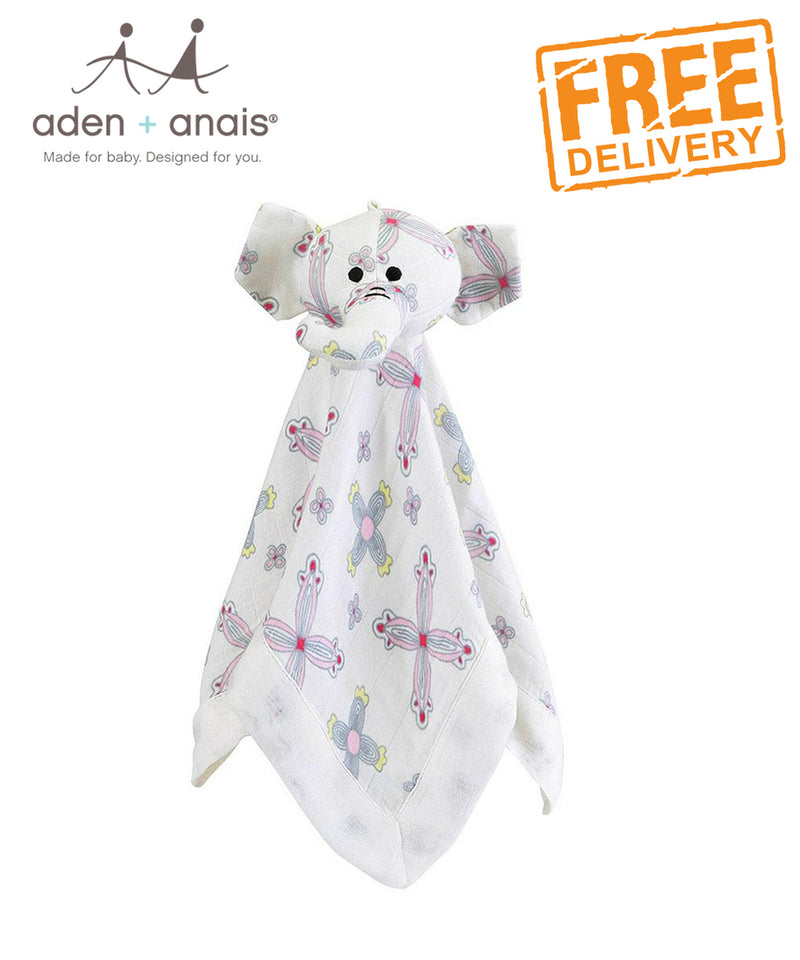 Aden + Anais Bamboo Silky Musy Mate® Lovey Flower Child