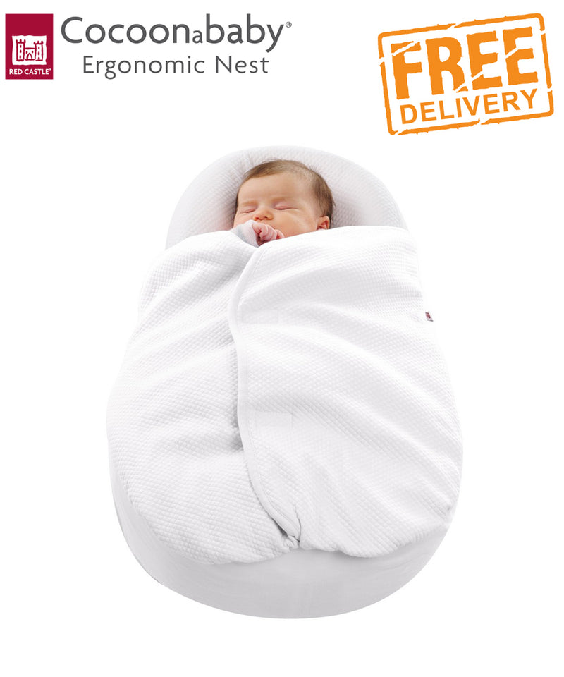 Cocoonababy Cocoonacover™ Light Weight 0.5 TOG Blanket Cover - White