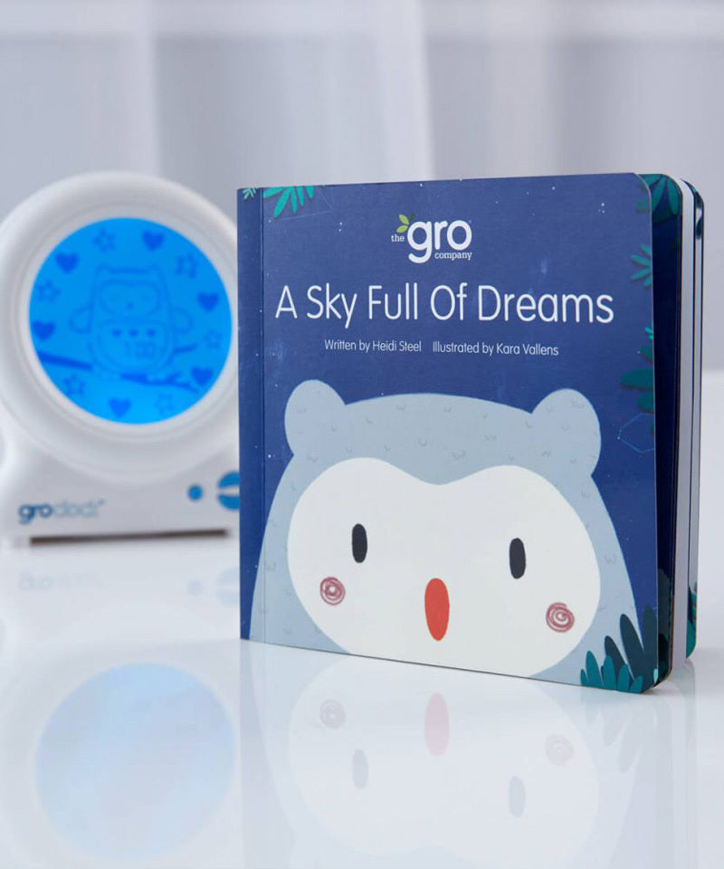 Ollie the Owl Gro-clock by the Gro Company