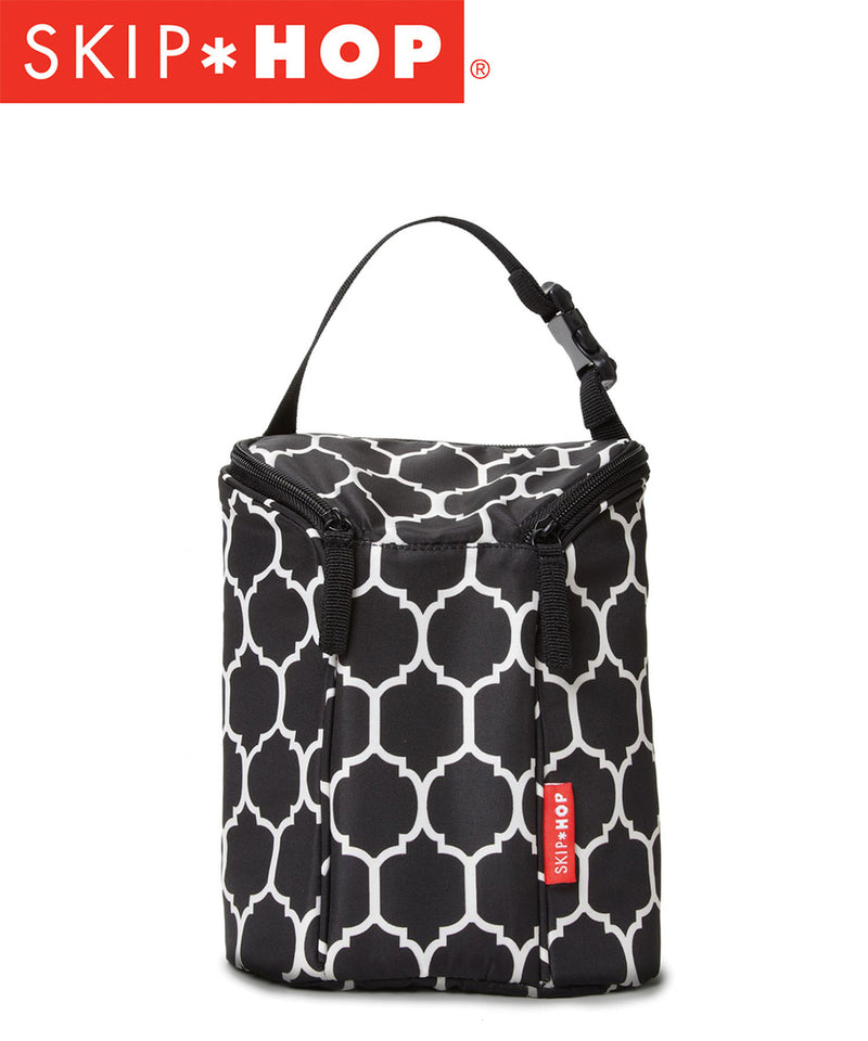 Skip Hop Grab & Go Double Bottle Bag - Various Designs