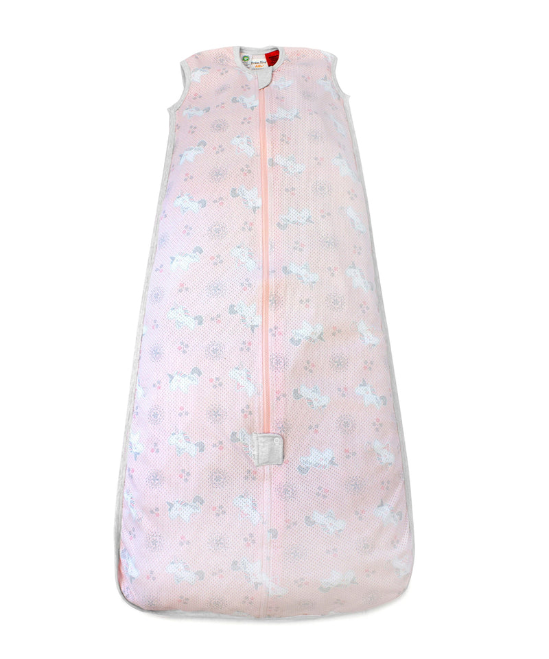Bubba Blue 0.5 tog Organic Cotton Air+ Sleep Bag  - Unicorn Magic