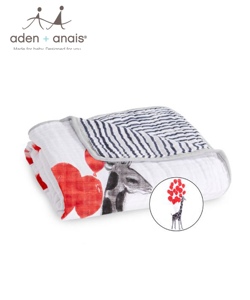 Aden + Anais Classic Muslin Dream Blankets™ - Dream Ride Lift Off