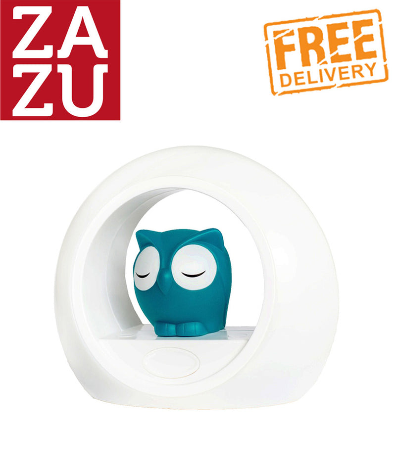Zazu Lou the Owl Nightlight - Blue