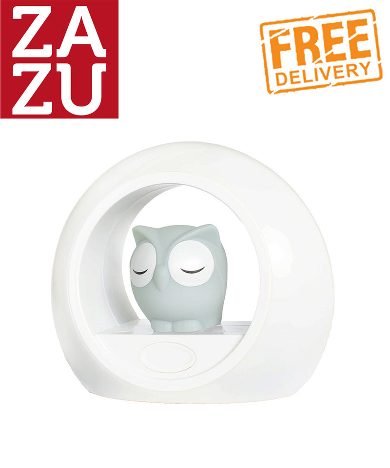 Zazu Lou the Owl Nightlight - Grey