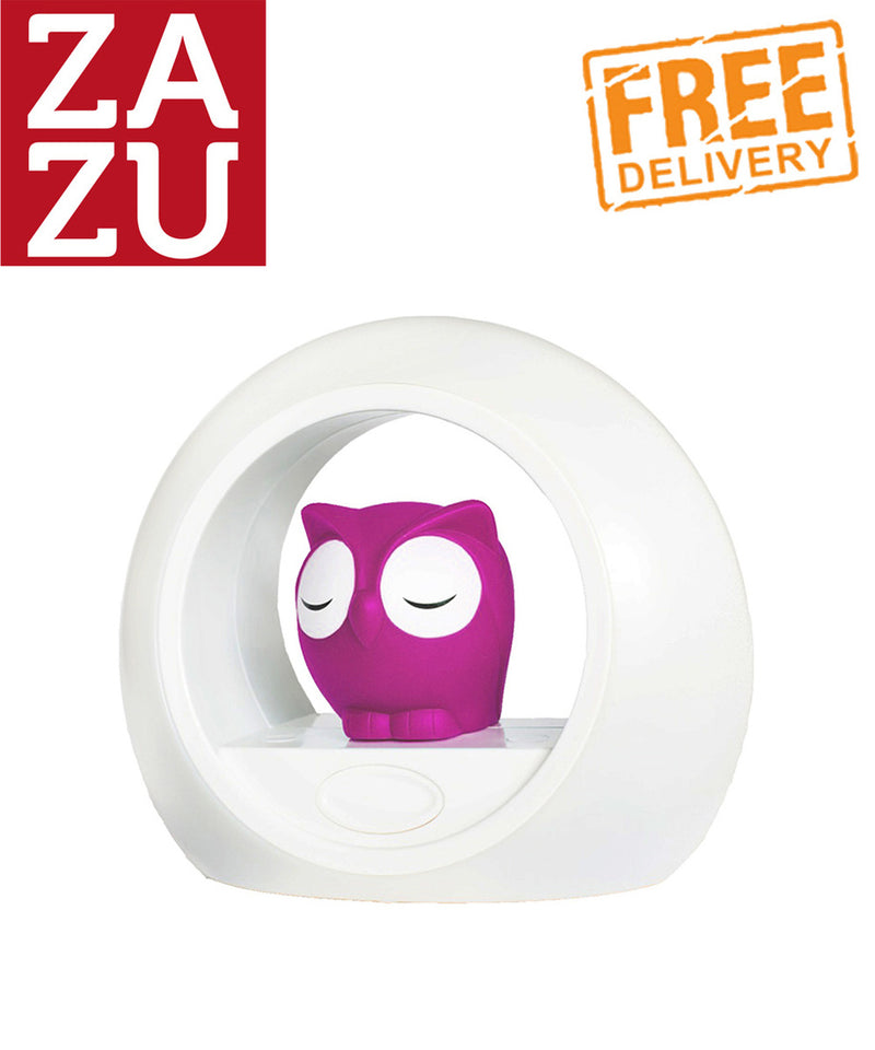 Zazu Lou the Owl Nightlight - Pink