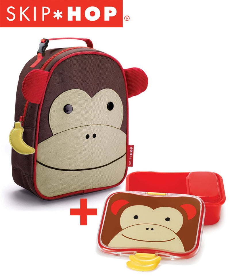 Skip Hop Zoo Lunchie and Lunch Kits Combo Deal - Various Designs