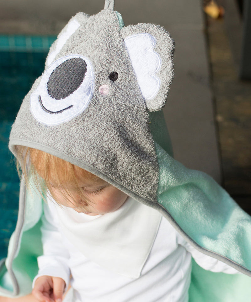 Weegoamigo Bath Mitt and Hooded Towel - Koala