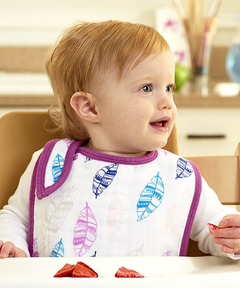 NEW Print Aden + Anais  Classic Snap Bibs 3 Pack - Various Prints