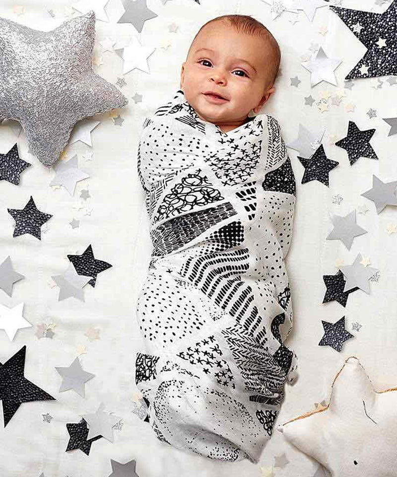 Aden + Anais Bamboo Swaddles 3 Pack - Midnight