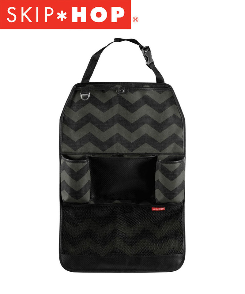 Skip Hop Style Driven Backseat Organizer - Tonal Chevron