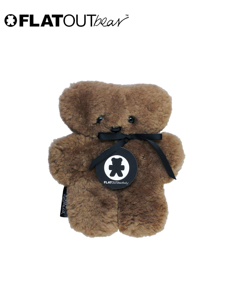 FLATOUT Sheepskin BearBaby - Chocolate