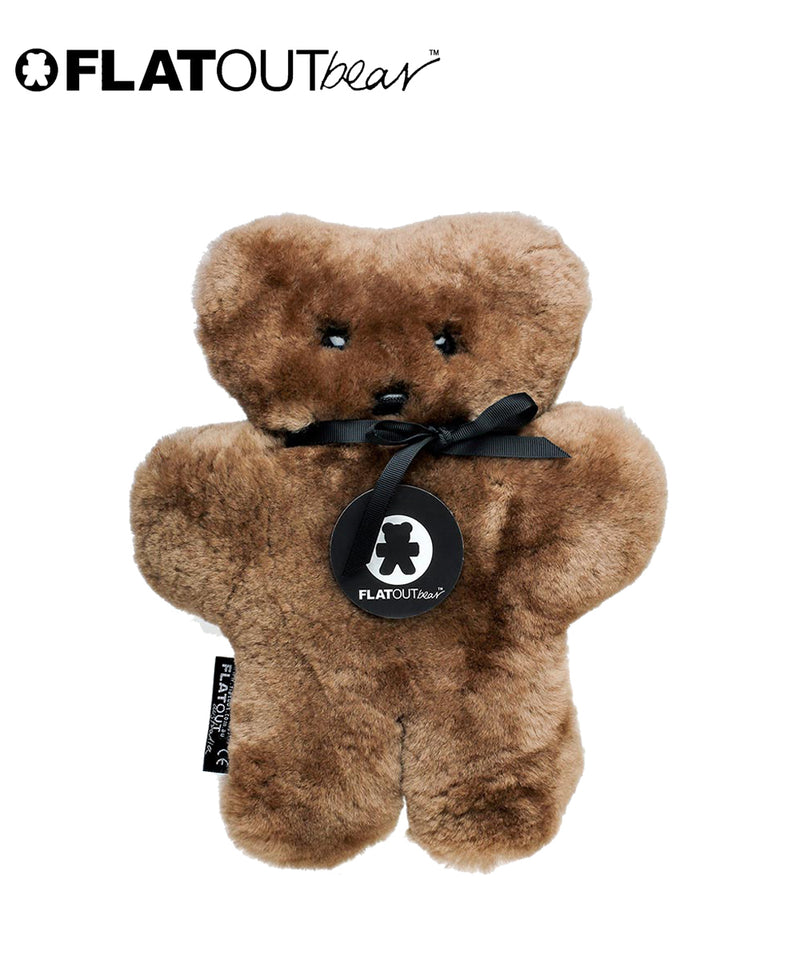 FLATOUT Sheepskin Bear - Chocolate