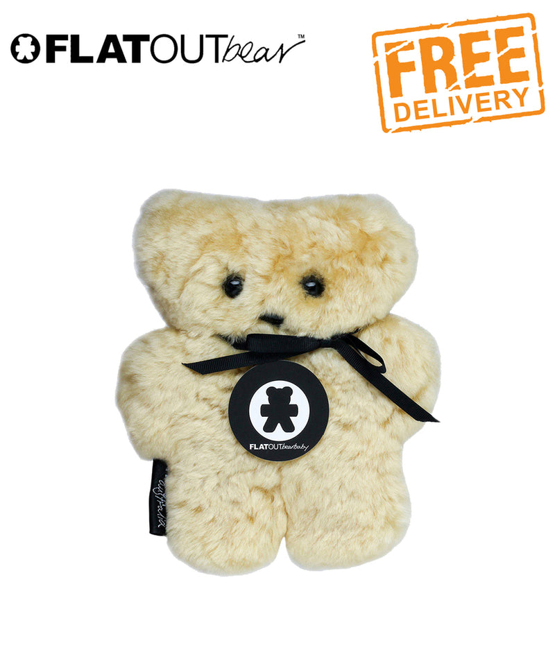 FLATOUT Sheepskin BearBaby - Honey