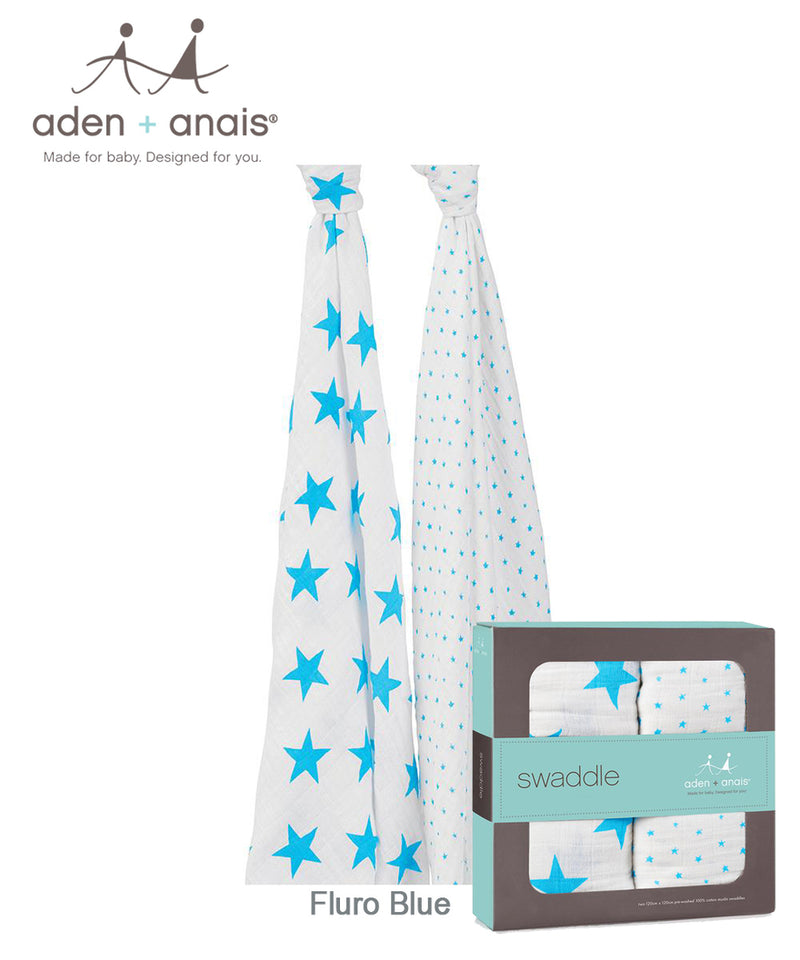 Aden + Anais Classic Swaddles 2 Pack - Various Prints