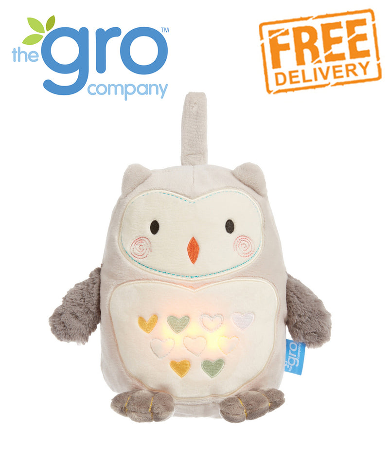 Sound and Light GroFriend USB Rechargeable - Ollie The Owl or Pip The Panda