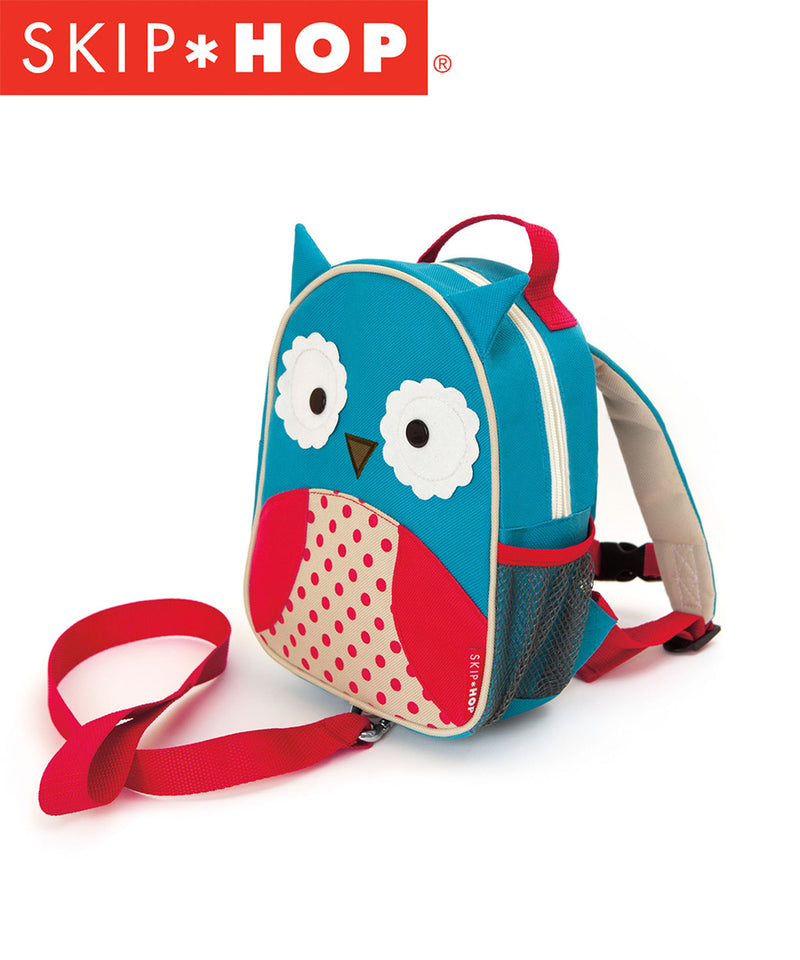 Skip Hop Zoo Mini Back Pack With Harness - Various Designs
