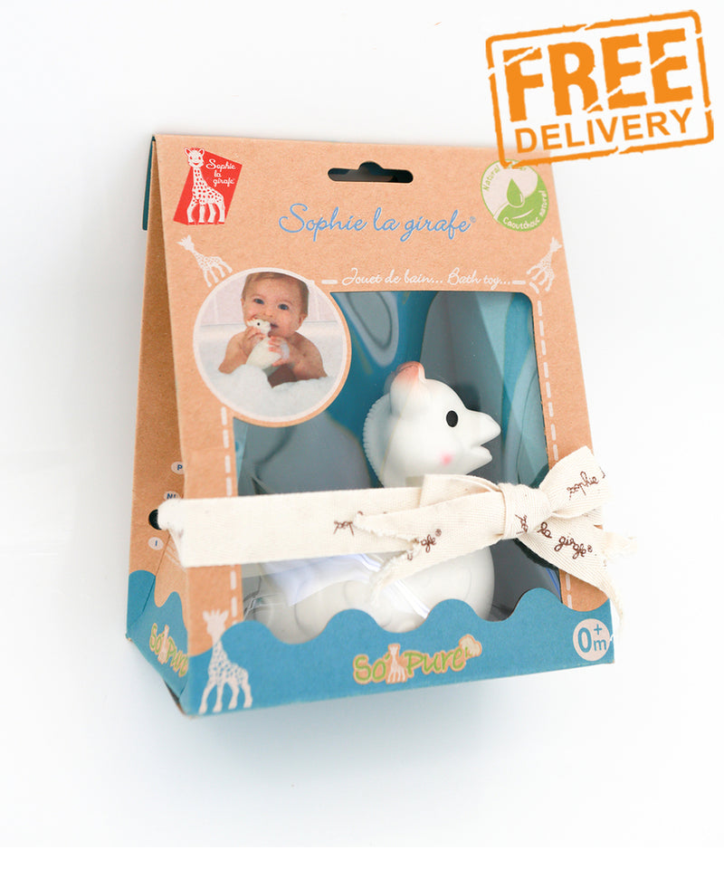 Sophie the Giraffe So'Pure Bath Toy by Vulli