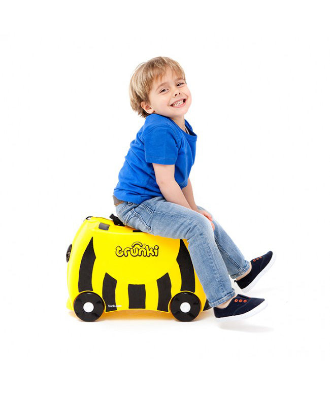Trunki Ride-On Suitcase - Bernard Bee