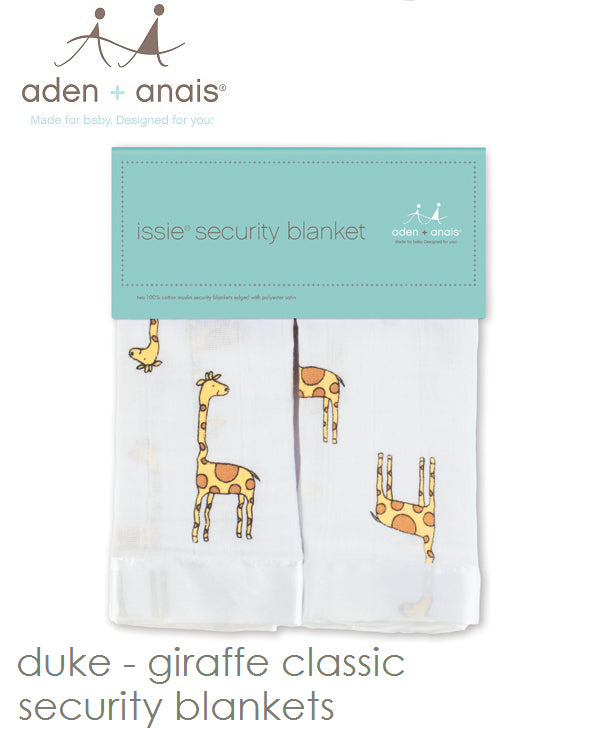 Aden + Anais Muslin Cotton Security Blanket Classic Issie® Various Styles