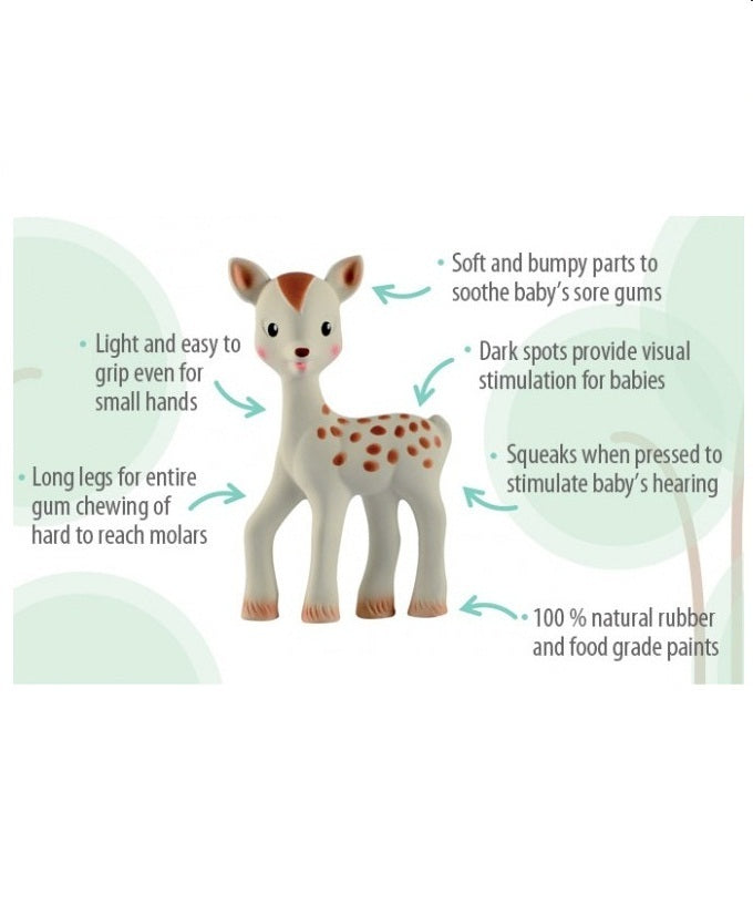 Baby FanFan the Fawn by Vulli Sophie the Giraffe